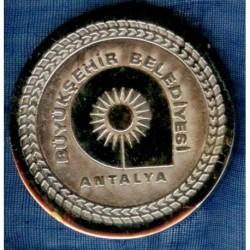 ANTALYA MUNICIPALITY MEDALLION
