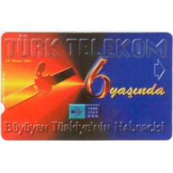 ERROR PHONECARD-6-TT 6th YEAR