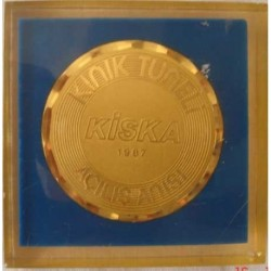 1987 KINIK TUNNEL OPENING MEDALLION
